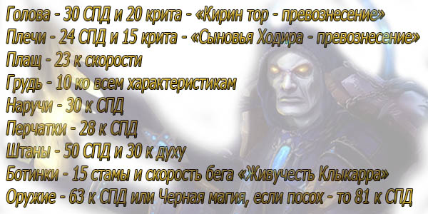 Nalozhenie-char-wow-ShP-Prist-3-3-5-PvE